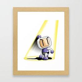 Bomb! Framed Art Print