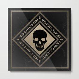 Memento Mori Metal Print