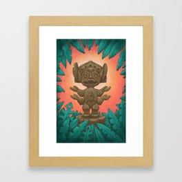 Tiki 626 Framed Art Print