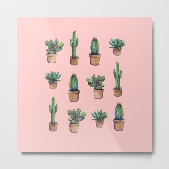 cactus pink, original version are BAck!! Metal Print