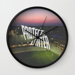 Protect the Carter Wall Clock