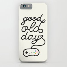 Good Old Days - Videogame iPhone 6s Slim Case