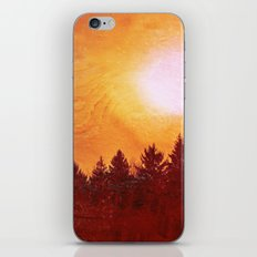 Painted Evergreens iPhone & iPod Skin