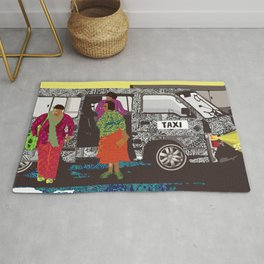 taxi in africa Rug