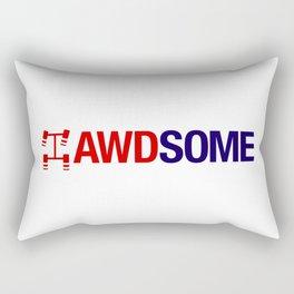 AWDSOME v2 HQvector Rectangular Pillow