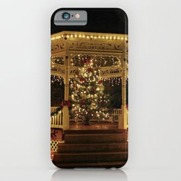 Gazebo Dressed for Christmas iPhone Case