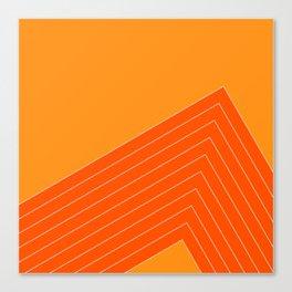 Orange Crush Range Canvas Print