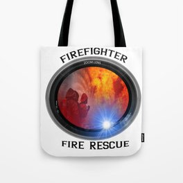 Firefighter rescue Tote Bag