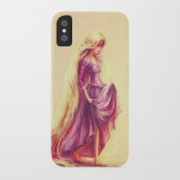 snow iPhone & iPod Cases featuring Gilded by Alice X. Zhang