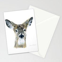 Doe Eyes by Teresa Thompson Stationery Cards
