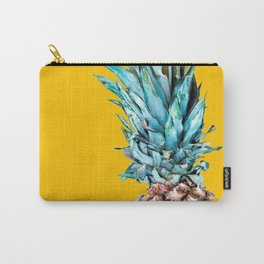 Pineapple Ananas On A Yellow Mellow Background #decor #society6 #buyart Carry-All Pouch