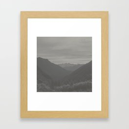 Alpine II Framed Art Print