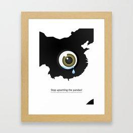 Giant Panda Conservation Framed Art Print