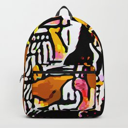 Kolage ~ Egyptian Gold ~ 3 Backpack