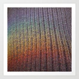rainbow on a sunday 2 Art Print
