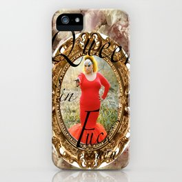 Queer as in Fuck You - Divine iPhone Case