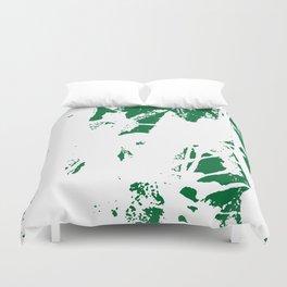 Green Base Duvet Cover