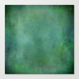 Looking into the depths of green Canvas Print