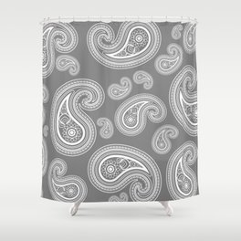 Paisley Print Shower Curtains