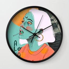 Aloka Party Wall Clock