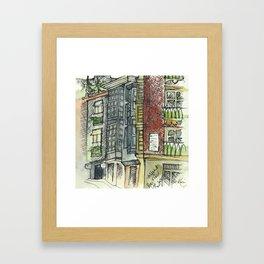 Camino de Santiago - Burgos Framed Art Print