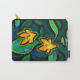 Orange Jewelweed 2.0 Carry-All Pouch