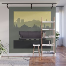 The Lonely Hopper Wall Mural