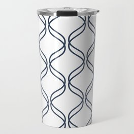Double Helix - Navy #535 Travel Mug