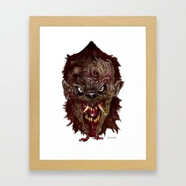 Heads of the Living Dead  Zombies: Were - Zombie Framed Art Print