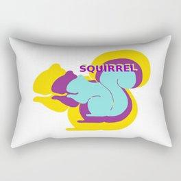 Layers of Squirrels Rectangular Pillow