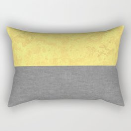 Concrete and Marble Illuminating and Ultimate Gray Rectangular Pillow