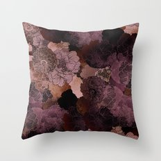 FLORAL FUN Throw Pillow