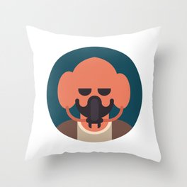 Plo Koon Throw Pillow
