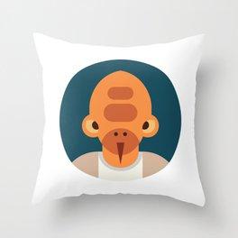 Nadar Veb Throw Pillow