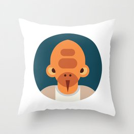 Nadar Veb Throw Pillow