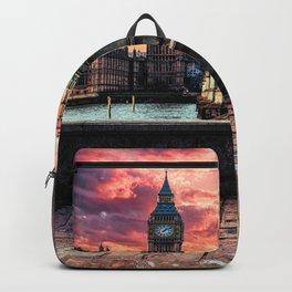 London Big Ben  Backpack