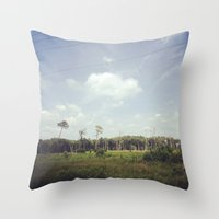 virginia Throw Pillows featuring Virginia by veromelen