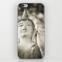 buddhism iPhone & iPod Skins featuring Buddha in Sukhothai by Maria Heyens