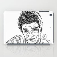 liam payne iPad Cases featuring Liam Payne by Hollie B