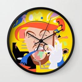 MAC MILLER---Face Art Wall Clock