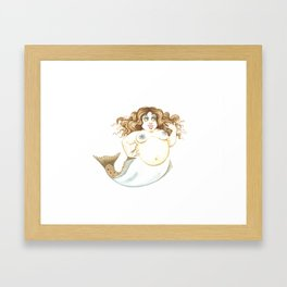 Halibut Patti Framed Art Print