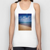 running Tank Tops featuring Running Water by Phil Perkins