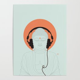 Buddha : Listen to Om! Poster