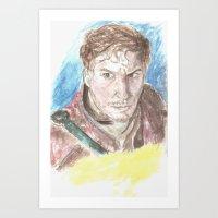 starlord Art Prints featuring Starlord by LK'sArts