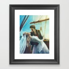 Wouldn't It Be Romantic Framed Art Print