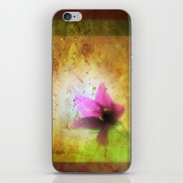 marriage of Titania; Salmon berry floral duet Shakespearean hidden pictures iPhone Skin
