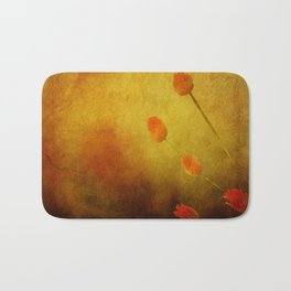 Floral Abstract Bath Mat