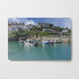 Newquay harbour 2 Metal Print