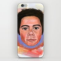 dylan iPhone & iPod Skins featuring Dylan by Devon F.