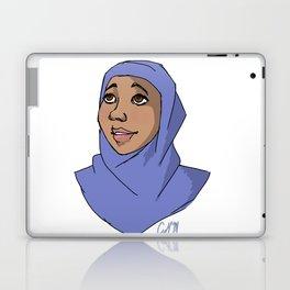 Hijabi in Blue Laptop & iPad Skin